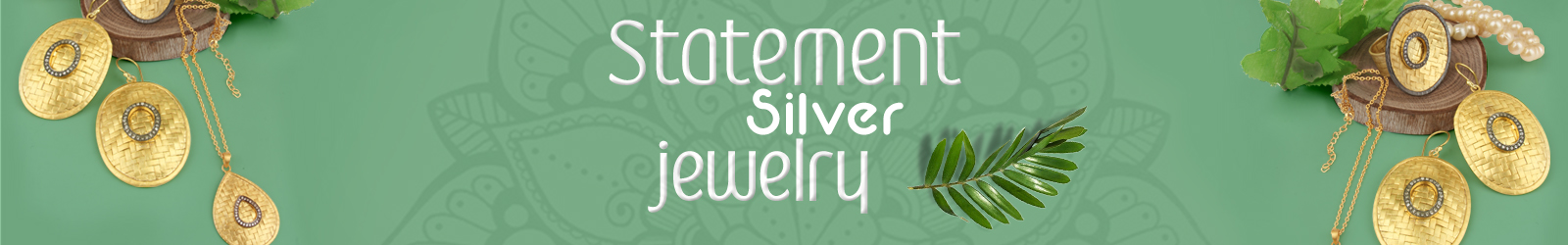 Wholesale Statement Silver Jewelry Maker In India