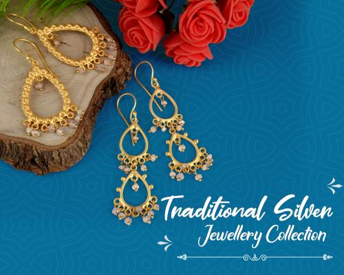 Traditional Silver Jewelry Collections in Jaipur