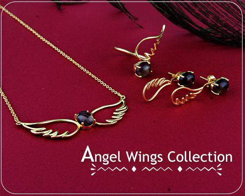 Online Wholesale Angel Wings Jewelry Collection