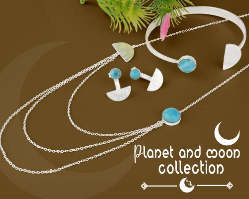 Planet and moon jewelry maker