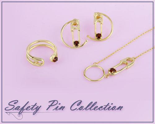 Online Wholesale Safety Pin Jewelry Collection
