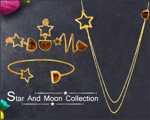 Online Wholesale Star And Moon Jewelry Collection