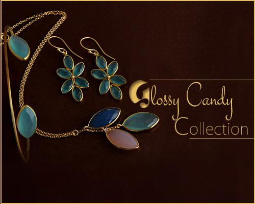 Online Wholesale Glossy Candy Jewelry Collection