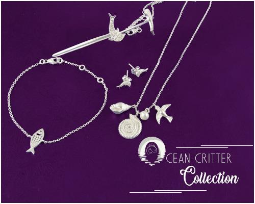 Wholesale Online Ocean Critter Jewelry Collection
