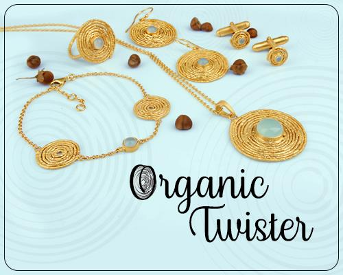 Wholesale Handmade Organic Twister Silver Jewelry Collection Manufacturer in Jaipur