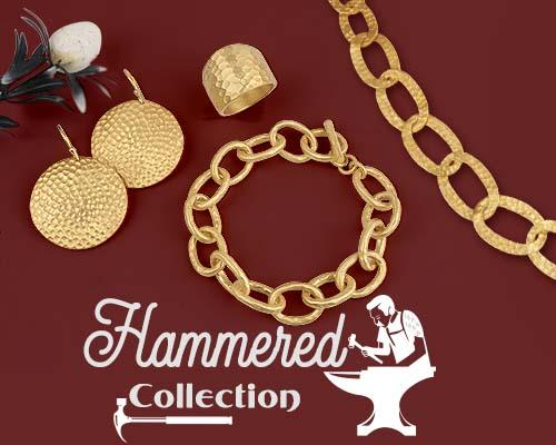 Handmade Hammered Silver Jewelry Collection Manufacturer in Jaipur