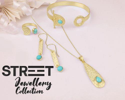 Wholesale Textured Handcrafted Silver Jewelry Manufacturer in Jaipur