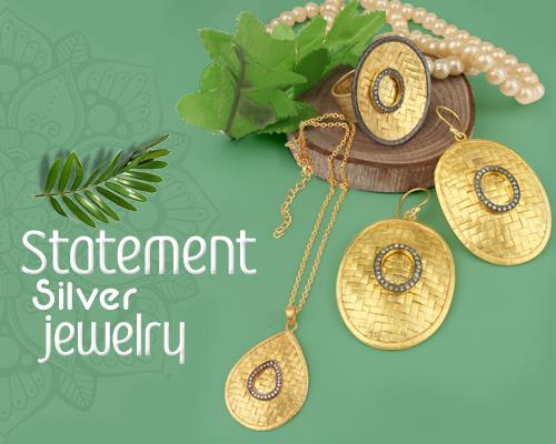 Statement Silver Jewelry Collections in Jaipur