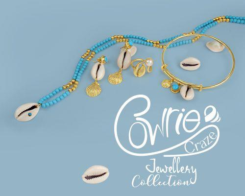 Cowrie craze jewelry collection