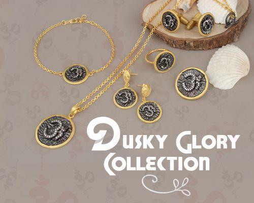 Dusky glory jewelry collection